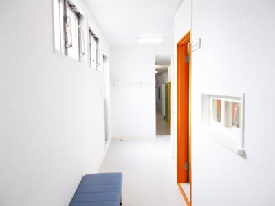 2階中央廊下
